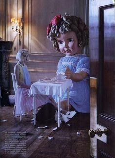 "Bonjour Girl: ""Like A Doll"" by Tim Walker for Italian Vogue (January 2012)"