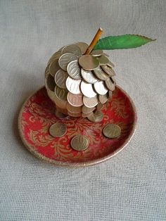 33 Ideas Birthday Presents For Boyfriend Couples I Love You Desi Wedding Decor, Wedding Crafts, Diy Home Crafts, Crafts For Kids, Thali Decoration Ideas, Decorations, Coin Crafts, Creative Money Gifts, Diy Gifts