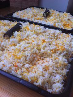 Spiced cinnamon, cardamom, bay and cloves rice