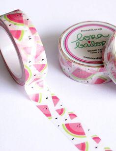 washi tape-sandia lora bailora