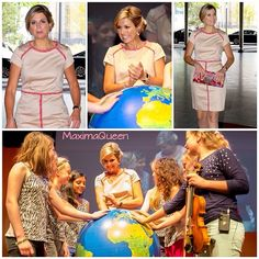 22-05-2014  Queen Maxima at the opening of the ECSITE-conference for culture and science communication at the World Forum Museon in The Hague.