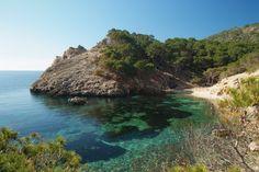 Malerische Bucht bei Paguera Im Juli bin ich wieder da . Juhu