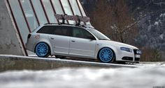 Here's another avant from across the pond, this time a lovely B7 A4 Avant in Norway owned by Ove. Although we can get B7 Avants here in the US, this avant is un