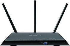 Shop NETGEAR Nighthawk Dual-Band Wi-Fi 5 Router Black at Best Buy. Find low everyday prices and buy online for delivery or in-store pick-up. Best Wireless Router, Best Wifi Router, Internet Time, Network Speed, Alexa Echo, Cable Modem, Home Network, Cool Things To Buy, Autos