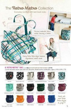 thirty-one gifts fall 2013 | Thirty one gifts  This is such a great bag. . .it could be a diaper bag. . .everyday. . .weekender. . .the possiblities are endless.