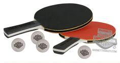 Harley-Davidson®   HDL-13704   Harley-Davidson® Table Tennis Paddle Set