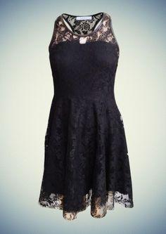 Γυναικείο φόρεμα από δαντέλα της σειράς ρούχων φθινόπωρο - χειμώνας 2014 της Anel Fashion! Black, Dresses, Fashion, Vestidos, Moda, Black People, Fashion Styles, The Dress, Fasion