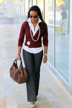 Super cute http://www.nusophisticate.com/2012/02/make-it-work-how-to-dress-up-casual.html#more