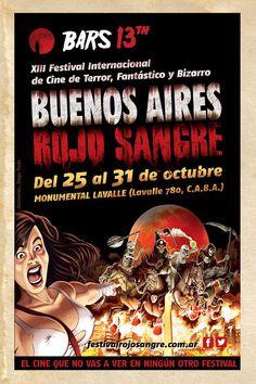 Horror movies film festival @ Buenos Aires.