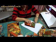 Patchwork Sem Segredos Aula 22: Montagem Carteira Crazy (Parte 01) - YouTube