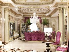 ~ Living Room Interior Design ~ antonovich-design.qa