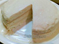 Торт «Белоснежка»   Диета Дюкана