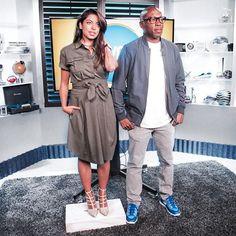 Aliya-Jasmine Sovani. Aliya Jasmine Reporter Style TV Fashion.