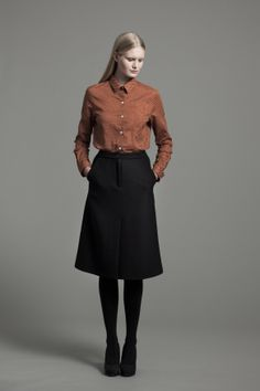 Teli Shirt and Brooklyn Skirt | Samuji FW14 Prints Collection