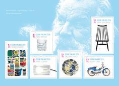 Postin verkkokauppa 1. lk:n postimerkit Arjen design - kuuden (6) ikimerkin vihko