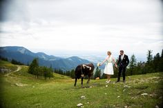 Berghochzeit, Hochzeitsdirndl,