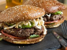 Cemita Burger With Refried Beans, Chipotle Mayo, Avocado, and Oaxacan Cheese | Serious Eats : Recipes