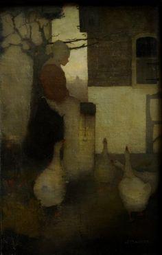 Ganzenliesje .... Jan Mankes 1889-1920