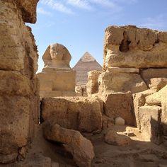 Great Sphinx of Giza | تمثال أبو الهول paikassa الجيزة, Muḩāfaz̧at al Jīzah