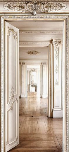 Interiors | French Paneling