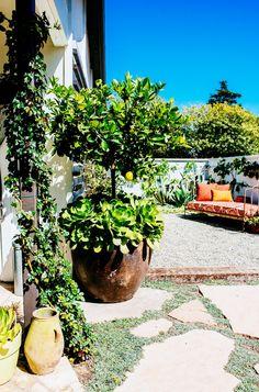 Inside a Rustic Home With an Incredible Garden via @mydomaine