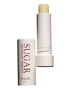"""Fresh Sugar Lip Treatment Advanced Therapy, $25    """"I felt the healing effects immediately,"""" said hair colorist Sharon Dorram of this balm, which has cupuaçu butter and passionflower-seed oil in it."""