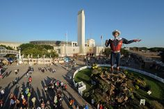 Big Tex – State Fair of Texas 2011, 2012 dates are Sept. 28th-Oct. 21st. Texas does everything bigger!