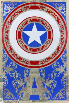 The Shield by on deviantART. Captain America is my favorite hero