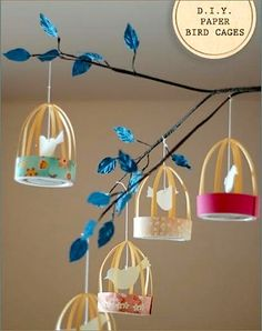 soooo cute....I wonder if I could make this into some kind of stationary mobile for B's room