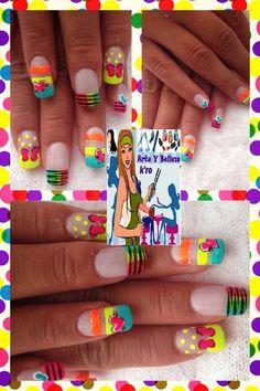 Arte en tus uñas manicura 7.000 cambio esmalte 4.000