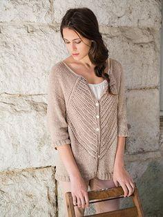 Knit - Camber Cardigan Knit Pattern - #RAK0524