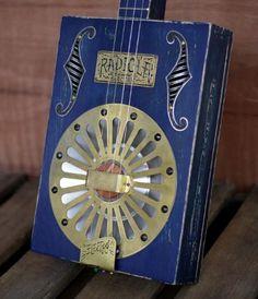 Red Dog Guitars ~Cigar Box Guitar~