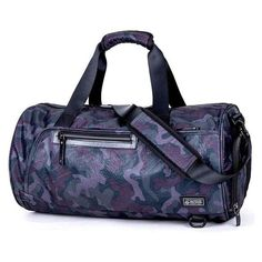Security & Protection Self-Conscious Women Men Training Gym Bag Waterproof Shoulder Travel Bag Camouflage Tote Bag Outdoor Sport Basketball Football Yoga Bag
