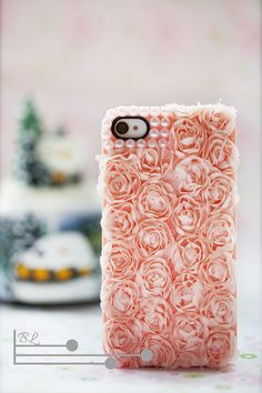 Lace Rose Pearl Iphone 4/4s Case Iphone 5 Case Iphone 5 Cases Iphone Hard Case Iphone Cover Bling Ha on Luulla