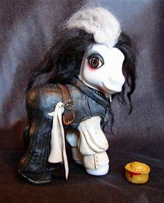 Sweeny Todd My Little Pony custom by sammytvr.deviantart.com on @deviantART