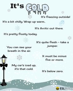 How to Talk About the Weather in English – Fluent Land