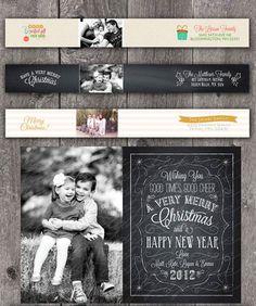 Card idea. Christmas Chalkboard: 13 Family Photo Holiday Cards - mom.me