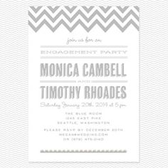 Place to Be Engagement party invitation PDF