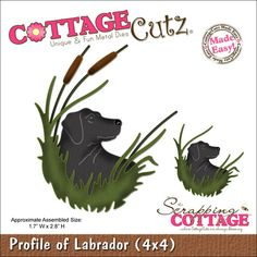 Found it at Blitsy - CottageCutz Die With Foam - Profile Of Labrador Made Easy