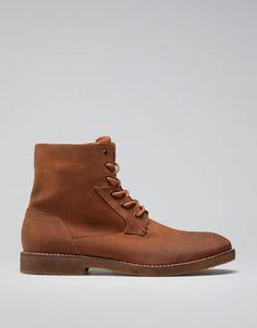 Bershka Ukraine - Vintage crepe boots