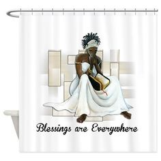 Looking for the ideal African American Bed & Bath? Find great designs on Shower Curtains, Beach Towels, Duvet Covers, Pillow Cases & Pillow Shams. Modern Shower Curtains, Custom Shower Curtains, Bathroom Shower Curtains, Fabric Shower Curtains, Boho Bathroom, Bathroom Towels, Bathroom Rugs, Bathroom Interior, Master Bathroom