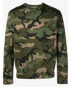 VALENTINO Camouflage Sweatshirt.  valentino  cloth   97e87210b9