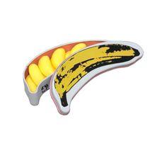 Boîte métal Warhol bonbons bananes