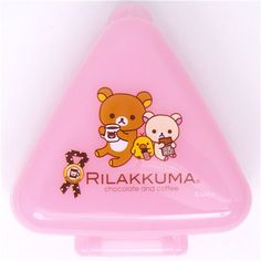 Rilakkuma bear Bento Box Lunch Box chocolate & coffee 1
