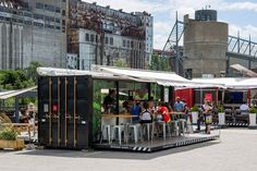 Interested in a pop up container mobile restaurant, kitchen or bar? Think about element space to make it happen and share your unique recipes, your menu or your refreshments, no matter the type, on the road.