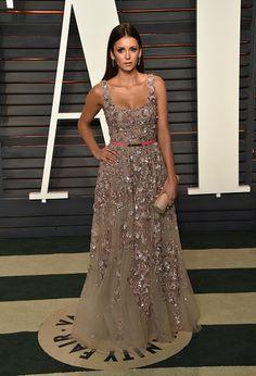 VF Oscars After Party Fashion 2016 Nina Dobrev