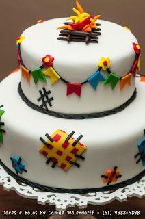 Camile Walendorff - Cupcakes, Bolos e Doces: Festa Junina!!!!