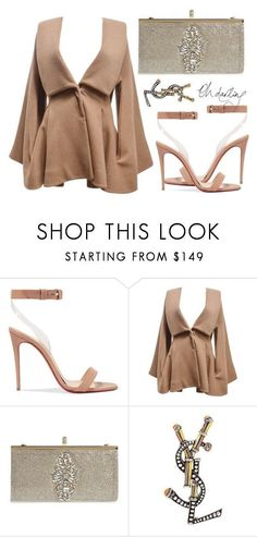 """""""Untitled #9692"""" by tatyanaoliveiratatiana ❤ liked on Polyvore featuring Christian Louboutin, Alexander McQueen, Badgley Mischka, Yves Saint Laurent, men's fashion and menswear"""