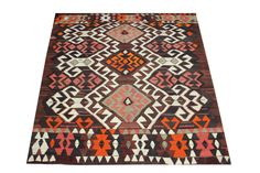 79 x 58 Feet Modern Kilim Rug Turkish Kilim Rug by ANATOLIANRUGS