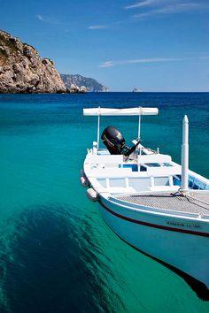 Paleokastritsa, Corfu, Greece.  Not a bad place to spend my 21st birthday!